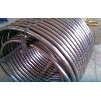 Quality ASME SB338 GR2 Titanium welded pipe for chemia for sale