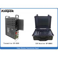 Buy 20W Manpack COFDM Video Transmitter 5-10km NLOS Body Worn Transmitter Real-time Transmission at wholesale prices