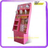 POP Promotional Cardboard Display Racks with Hooks for Candy