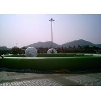 China Popular 0.6mm PVC Tarpauline Inflatable Baby Swimming Pool With Air Sealed on sale