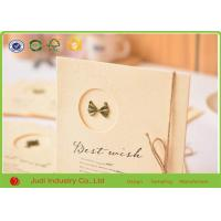 Quality Luxury 3D Holiday Greeting Cards Offset Printing Wedding Invitation Cards for sale