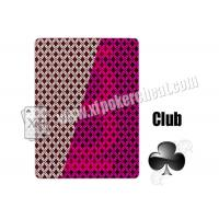 Quality 2 Jumbo Index Invisible Playing Cards Plastic Jumbo Playing Cards Cheating Tools for sale