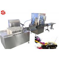 Quality Aerosol Spray Paint Filling Machine For Graffiti / Furniture Repair / Car Refinishing for sale