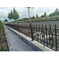 Quality Galvanized Cast Iron Fence Panels Powder Coated Surface Treatment Decorative Metal Fence for sale