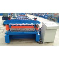 Buy Iron Sheet Zink Metal Building Material Cold Roll Forming Machine For Metal Roofing at wholesale prices