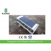 Quality 14 Seats Driverless Public Transport Bus With Monocrystalline PV Panel for sale