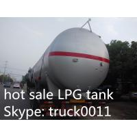Quality hot sale best price 20tons bulk surface LPG gas storage tank, factory sale price propane gas storage tank for sale for sale