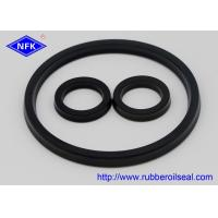Quality High Pressure Rubber Oil Seals , Rubber Hydraulic Industrial Oil Seals Durable for sale
