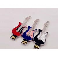 Buy Small Hi - Speed Jewelry Guitar Portable Usb Flash Drive 64gb Customed Logo at wholesale prices