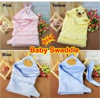 Buy Cute Newborn Baby Swaddle Me Swaddling Wrap Blanket Sleeping Bag Sleepsack Sleep Sack Growbag Hooded Cuddle Sleepsuit at wholesale prices