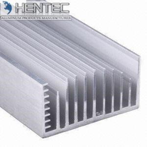 Quality Cars 6005 Extruded Aluminum Heatsink Customized Shape PVDF Finishing for sale