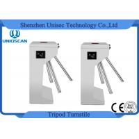 Buy Two Way Security Tripod Turnstile Gate 550mm Channel Width With Access Control System at wholesale prices