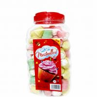 Quality Mini Cake In Jar Nice Taste Marshmallow Sweets , Soft candy marshmallow for sale