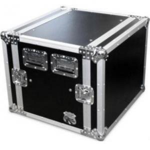 Quality Amplifier Rack Speaker Case / Audio Equipment 6U Flight Case for sale