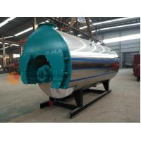 Quality Three Pass Fire Tube Oil Fired Boiler Efficiency / Industrial Heating Boilers for sale