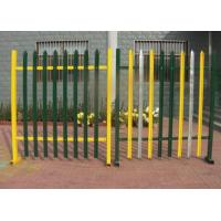 Quality European D W Head Metal Palisade Fencing For Power Plants / Substations for sale