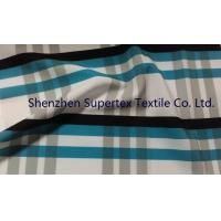 Buy Polyester Poplin Elastic Stretch Fabric with all over Paper Print at wholesale prices