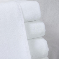 Quality 80% Cotton Hotel Quality White Towels for sale