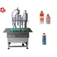 Quality Semi Automatic Butane Gas LPG Gas Filling Machines, Lighter Gas Refill Machine for sale