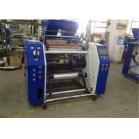 Quality Automatic Stretch Film Rewinding Machine For Dotted Line Film , Easy To Tear for sale