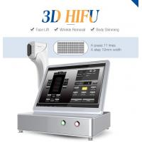 Quality Beauty machine Intensity focused ultrasound hifu portable machine body slimming 3d hifu for sale