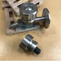 Quality Sanitary Stainless Steel Sample Valve Tri Clamp Style Saniatry Pipe Fitting Sample Valve for sale