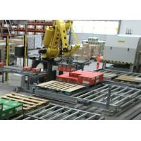 Quality High Speed Robotic Palletizing System / Stacking Machine With Edit and Remote Diagnosis for sale