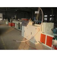 Quality Fiber Reinforced Soft PVC Pipe Extrusion Machine 80-450kgs / h for sale