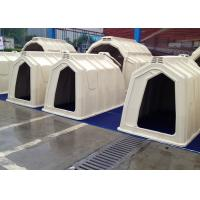 Buy cheap Long Using Life Cow Calf Hutches with Hot-Galvanized Steel Pipe Fence from wholesalers