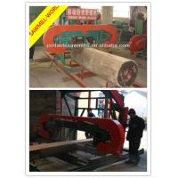 China Electric Portable Bandsaw Sawmill For Sale of portable horizontal band sawmill on sale