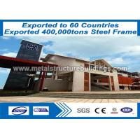Quality Heavy Pre Engineered Buildings Prefabricated Steel Structures CE Verified for sale