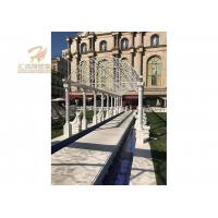 Quality Customized Design Luxury Gazebo Marble Hand Carving for sale