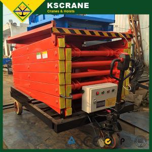 China Easy Loading Hydraulic Scissor Lift Table on sale