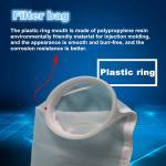 Quality 4#nylon filter bag manufacturer liquid filter bag screen paint coating filter bag nylon filter bag for sale