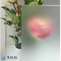 China Custom Excellence quality acid etched frosted glass on sale