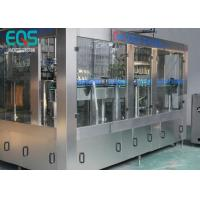 Quality 275ml / 300ml /500ml Glass Bottle Carbonated Soda Filling Machine Automatic 3 - In -1 for sale