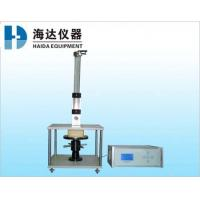 LCD Touch Screen Furniture Testing Machines , Automatic Foams Ball Rebound Tester