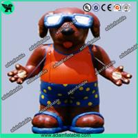 Quality Inflatable Dog, Inflatable Dog Costume,Cool Dog Inflatable For Sunglasses Advertising for sale