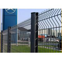 Quality 3d Curved Welded Pvc Coated Galvanized Wire Mesh Security Fence for sale
