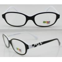 Quality White And Black Hand Made Acetate Optical Frames , Eye Optical Frames for sale
