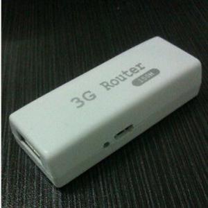 Quality Mini 3g Wi-Fi Router/Hotspot/AP/Gateway Compatible w/ HSDPA/HSUPA/HSPA+, CDMA EVDO Rev A/B USB Modem for sale