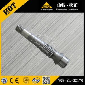 Quality komatsu excavator shaft 708-2L-32130 PC220-7 hydraulic pump shaft 708-2L-32110 for sale