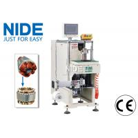 Quality Fan motor stator coil slot winding lacing machine touch screen control for sale
