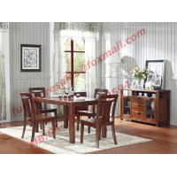 Quality High Quality Solid Wooden Furniture Dining Table with Chair for sale