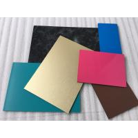 Quality Spectra Blue Aluminium Interior Wall Panels Anti - Dust With High Impact Resistance for sale