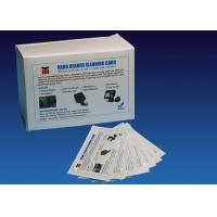 Buy cheap ATM CR80 Flat Cleaning Card , Pre Saturated Atm Cleaning Cards With IPA Solution from wholesalers
