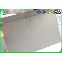 Quality Large Corrugated Cardboard Sheets 1mm 2mm 3mm 4mm Grey Board For Box Binding Covers for sale