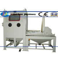 Suction Type Manual Dry Sandblast Cabinet 1200*1200*750mm Working Chamber Size