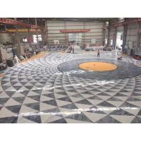 Quality Decorative Marble Floor Medallions Border Designs Customized Shape for sale