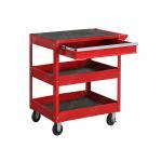 China Folding Rolling Mechanics Tool Cart Portable Optional Side Shelf  820*380*780 mm for sale
